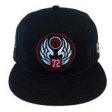 Шлем человека способа крышки Snapback партии вышивки хлопка таможни регулируемый
