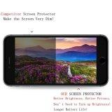 Protector Tempered balístico antideslumbrante anti de la pantalla de la aislamiento completa del borde de la curva de HD 2.5D para el iPhone 7 más