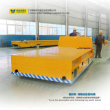 원격 제어 Material Handling 35t Trackless Transfer Cart