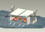La riga di pittura/vernice automatiche & cuoce la cabina