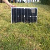 гибкая Mono солнечная панель солнечных батарей модуля 25W для батареи 12V