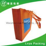 Het goedkope Gerecycleerde Winkelen pp van de Totalisator van de Kruidenierswinkel van de Druk van de Douane Geen Geweven het Winkelen van de Gift Bag&Advertizing Zakken
