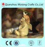 Figurines svegli di angelo della mini di formato della resina del bambino di angelo decorazione della casa