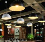Lámpara pendiente colgante de interior simple moderna de la fuente de la fábrica en aluminio