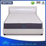 Comprimido OEM de colchón de espuma de memoria de 27cm de alto con la primavera y el bolsillo de la zona 5 Almohada Deluxe