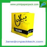 Insignia modificada para requisitos particulares de la impresión de la bolsa de papel que hace compras