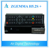 Multistream TV SO Linux Enigma2 Zgemma H5.2tc Plus DVB-S2X/T2/C+DVB-S2 Receptor de TV por satélite