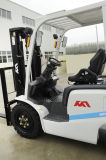 Caminhão de Forklift do motor LPG/Gas/Diesel de Isuzu Nissan do mastro de Choiced