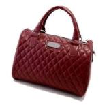 Het nieuwe Rood van Handbagswine van het Leer van de Aankomst Pu (BDMC035)