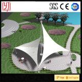 Jardín botánico de ETFE en pabellón del toldo de la estructura de la membrana de Tailandia