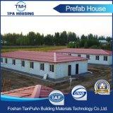 Structure de structure en acier léger Prefab Maisons Construction en sandwich