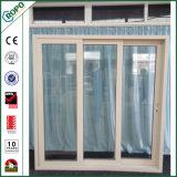 Ventana y puerta modificadas para requisitos particulares de desplazamiento del PVC de la talla con Glassing doble