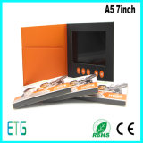 7inch 중국에서 주문 LCD 스크린 인사말 도표 비디오 카드