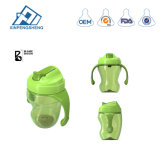 BPA geben trinkendes Cup mit Griff-führende Flaschen-Säuglingsmilchflaschen breites Stutzen-Trainings-trinkendes Cup frei
