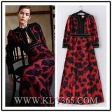 Luxuxform-Frauen bördelten langen Abschlussball-Abend-Kleid-Großverkauf