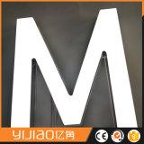 白く完全なLitアクリルLEDの経路識別文字