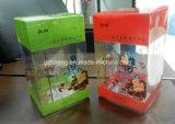 Caixa plástica de dobramento de impressão de cor do OEM (caixa impressa 01)