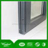 Venster van het fabriek-Handel drijvend van China het Beroemde Aluminium met het Venster van het Glas van 5mm+9A+5mm