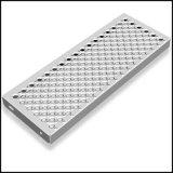 Colorear la hoja perforada aluminio revestido de la pantalla del metal