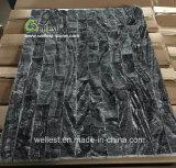 壁の飾るか、または壁のクラッディングのためのM711の穀物の大理石のCulrutrの黒いですか灰色の木製の石