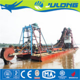 Máquina Julong mercados ultramarinos de exportação de ouro da cadeia da Caçamba Draga