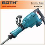 электрический молоток подрыванием молотка Jack выключателя 1500W (HD6016A)