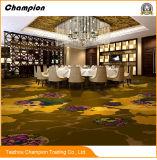 贅沢な手の房状のカーペットのホテル大統領組のカーペットおよび敷物、安い一面の展覧会の骨があるカーペットまたはNonwoven針の穿孔器のカーペット