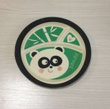 (BC-TP1014) Eco Caldo-Sell Bamboo Fibre Multifuction Tray con Print