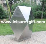 정원 Decoration를 위한 Fo 9046 Polygon Stainless Steel Planter