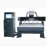 Маршрутизатор CNC Woodworking маршрутизатора машины CNC Engraver CNC деревянный высекая (VCT-1525W-4H)