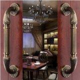 Portello di lusso di legno solido dell'entrata delle entrate principali della villa doppio