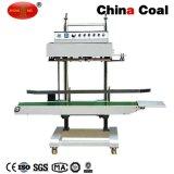 Selladora de banda continua vertical Qlf-1680 máquina de sellado para bolsa de plástico