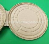 Caja de Pizza de papel desechables, ecológica, la placa de Pizza biodegradables
