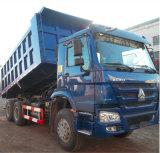 371CV Sinotruk volcado HOWO camiones volquete con ruedas de 10