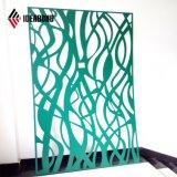 Matériaux décoratifs CNC découpe panneau composite en aluminium