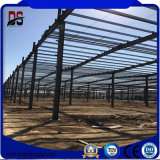 Grand entrepôt vert clair de structure de bâti en acier