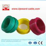 Fio do cabo elétrico do cobre da fiação da casa da isolação do PVC para a iluminação
