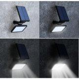 Luz de pared con la energía solar