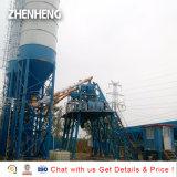 Tipo de segmento 75m3/H de hormigón preparado planta de procesamiento por lotes
