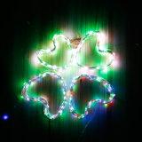 Angeschaltene warme Zeichenkette-feenhaftes Licht-Solarlampe des Weiß-12m 120LED kupfernen des Draht-LED