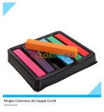 6 couleurs douces en pastel et craie des cheveux