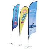 Volata facendo pubblicità alla bandierina dell'erba/piuma Flag/Banner