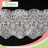 China de malla de tela de encaje Net y Organza del cordón del bordado
