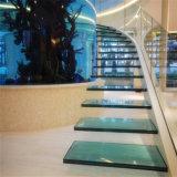 16.76mm blaues lamelliertes Sicherheitsglas für Treppe