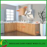普及した食器棚の卸売の食器棚の中国の木の食器棚