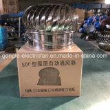 Edelstahl-automatische Turbine-Dachventilator Nicht-Energie windbetriebener Ventilator
