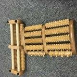 Tarjeta de madera del masaje del pie del rodillo del masaje