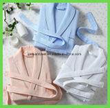 Летом воротником-шалью банный халат вафельная ткань