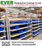 Pulverización electrostática epoxi poliéster mate liso Color ral de la pintura para estanterías de almacén