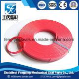 Tira de desgaste fenólica hidráulica llenada PTFE de la tela del anillo de la guía del coche